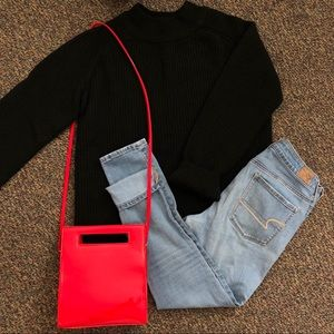 Thick Black Chunky Sweater